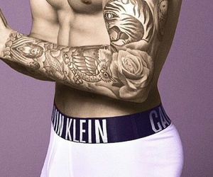 justin bieber, Calvin Klein, and Jerry image