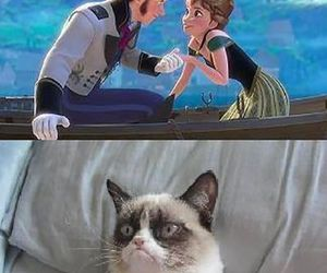 funny, love, and frozen image