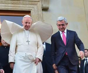 armenia, pope, and president image