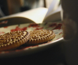 Cookies, cozy, and plate image