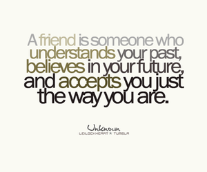 friend, text, and quote image