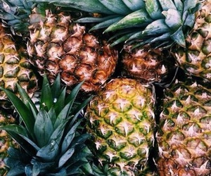 color, summer, and pineapples image