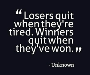 losers, motivation, and quotes image