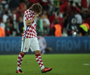 Croatia, football, and luka modric image