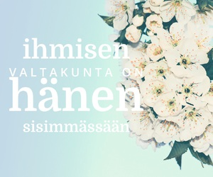 finland, quote, and words image
