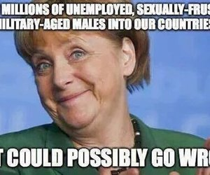 funny, germany, and immigrants image