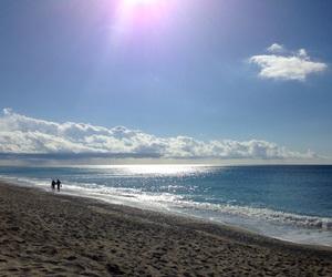 beach, mare, and spiaggia image