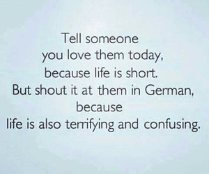 german, love, and funny image