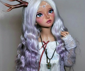 bjd, doll, and msd image