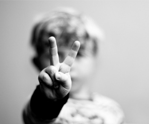 peace, kids, and child image