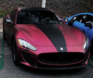 car, maserati, and red image