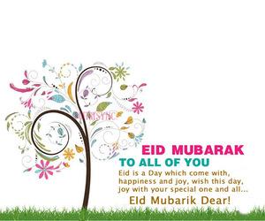 eid mubarak, eid wishes, and eid cards image