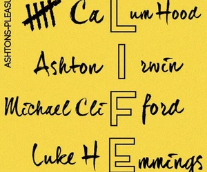5sos, life, and michael clifford image