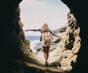 adventure, girl, and travel image