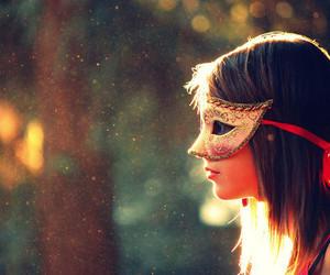 girl and mask image