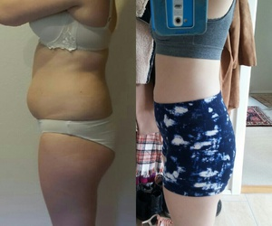 transformation, weightloss, and beforeandafter image