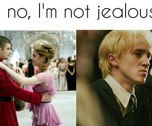 dramione and yule ball image