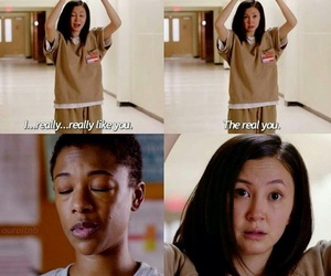 quotes, love, and oitnb image
