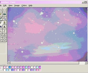 pink, pastel, and paint image