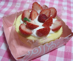 food, cake, and japan image