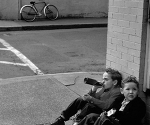 boy, kids, and black and white image