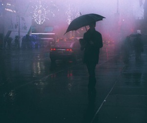 rain, grunge, and tumblr image