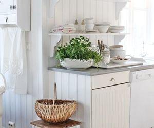 interior design, vintage, and white image