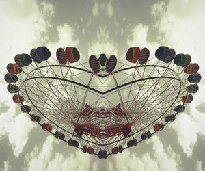 carnival and heart image