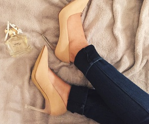 charles and keith, heels, and style image