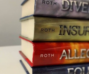 books, four, and insurgent image