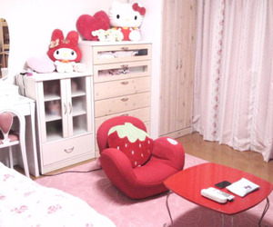room and sanrio image