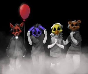 fnaf, foxy, and Freddy image