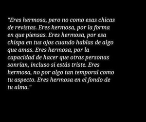 black and white, frases, and hermosa image