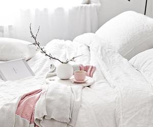 interior, minimalist, and pink image