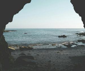 beach, trip, and sea image