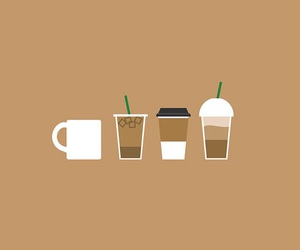 cafe, coffee, and starbucks image
