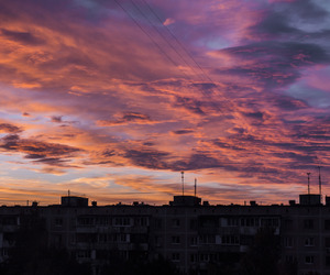 beauty, sunset, and city image