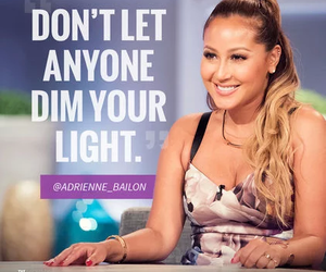 quote, adrienne bailon, and text image