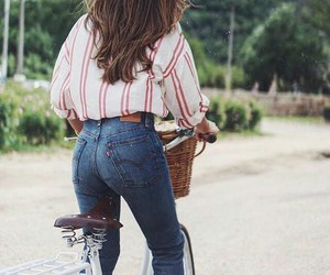 fashion, style, and bike image