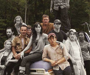 the walking dead, twd, and glenn image