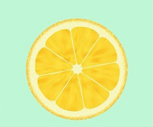 wallpaper, lemon, and orange image