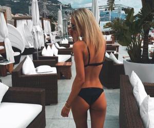 ass, bikini, and girl image