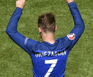 griezmann, football, and france image