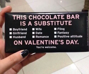 chocolate, Valentine's Day, and valentine image