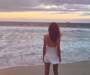 beach, feet, and chiara biasi image