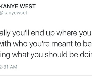 kanye west, life, and quote image