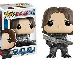 winter soldier and funko pop image
