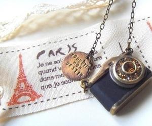 paris, camera, and vintage image