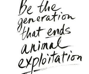 generation, goals, and end animal abuse image