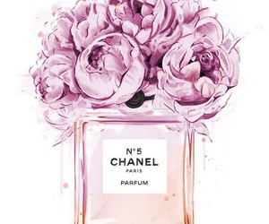 chanel, flowers, and pink image